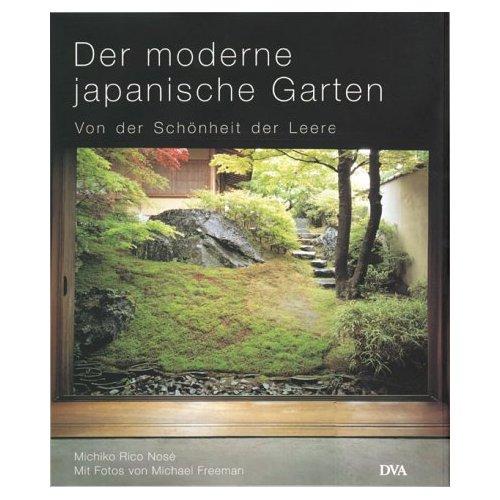 Buchbild: Der moderne japanische Garten - von der Schönheit der Leere
